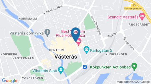 Fastliving Apartment Hotel Map