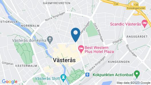 Sure Hotel Studio by Best Western Esplanade Map