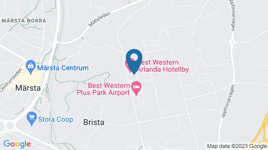 Best Western Arlanda Hotellby Map