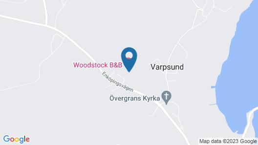 Woodstocks B&B Map