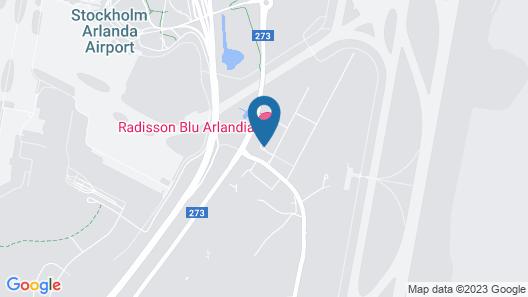Radisson Blu Arlandia Hotel Map