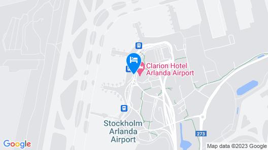 Radisson Blu Airport Terminal Hotel, Stockholm-Arlanda Airport Map