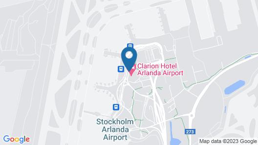 Clarion Hotel Arlanda Airport Terminal Map