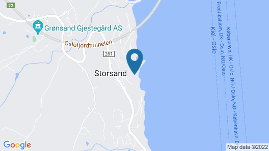 1 Bedroom Accommodation in Sætre Map