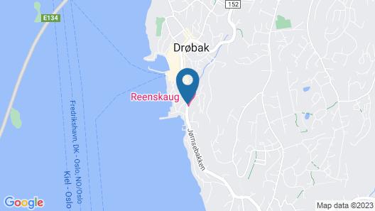 Reenskaug Hotel Map