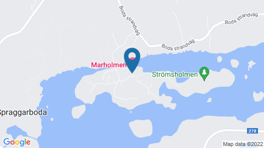 Marholmen Stugor Map