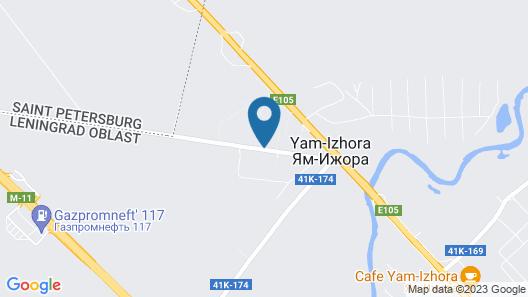 Khutorok hotel Map