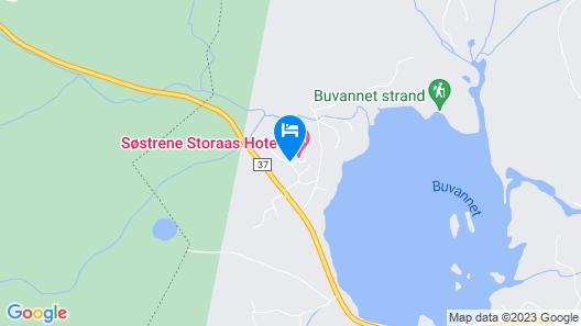 Søstrene Storaas Hotell Map
