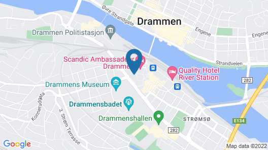 Best Western Globus Hotel Map