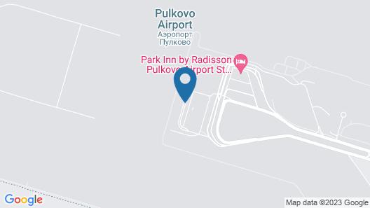 Capsule Hotel Pulkovo Map