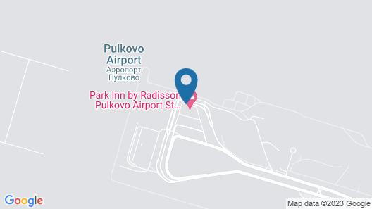 Park Inn by Radisson Pulkovo Airport St Petersburg Map