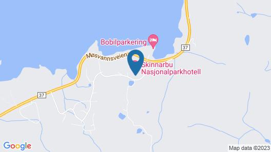 Skinnarbu Map