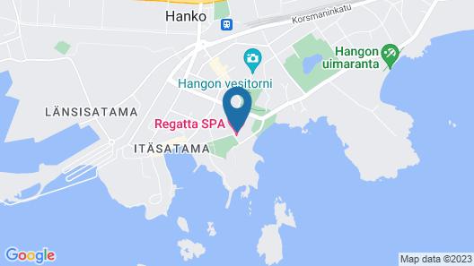 Hotel Regatta Map
