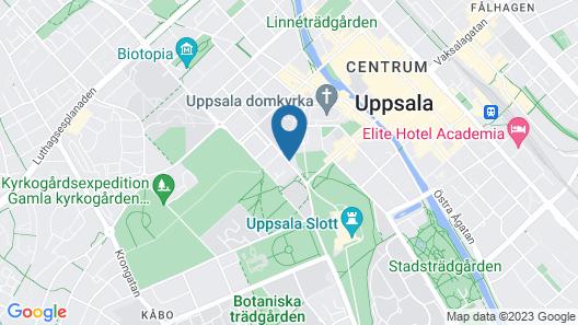Akademihotellet Map
