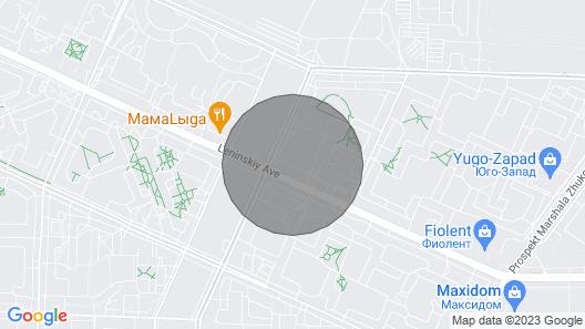 Апартаменты 3 комнаты с сауной рядом Петродворец Map