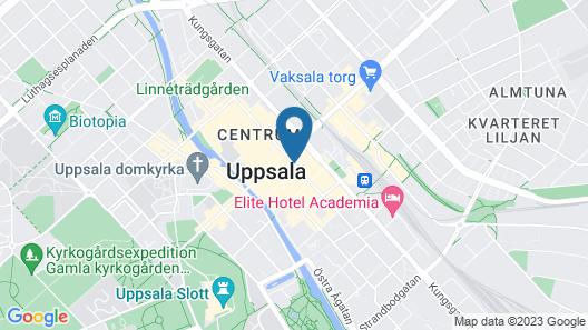 Apartments Centralstation Map