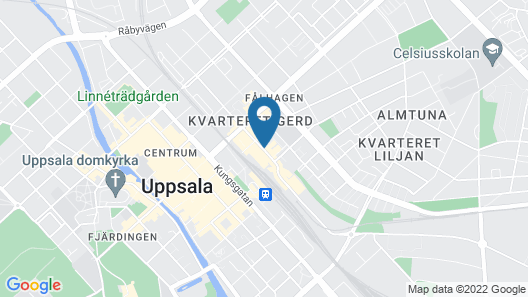 Clarion Collection Hotel Uppsala Map