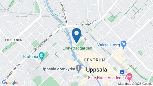 Botanika Uppsala Map