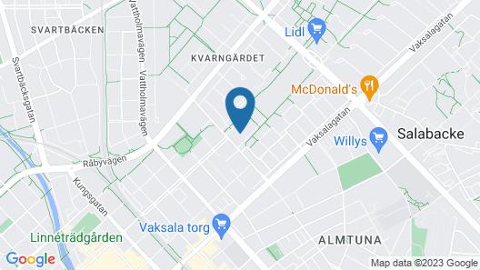 Hotell Kvarntorget Map