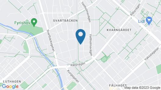 Apartments Uppsala Portalgatan Map