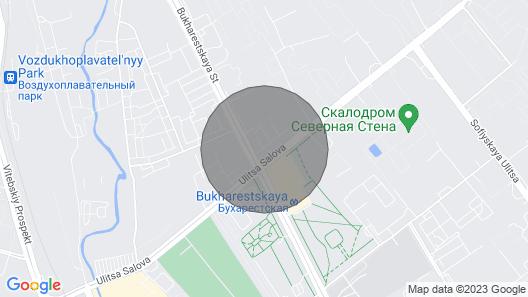 New, modern, safety apartment/ 15 min - center. Map