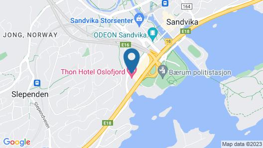 Thon Hotel Oslofjord Map