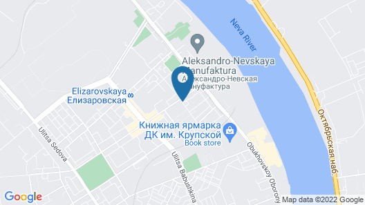 Usadba na Elizarova Hotel Map
