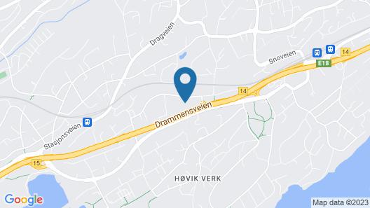 Høvik hotell Map
