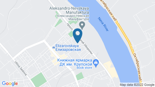 Elizar hotel Map