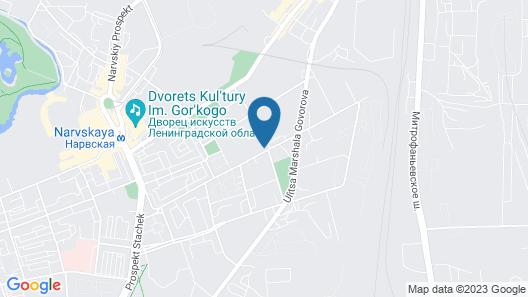 4-You Apartaments Map