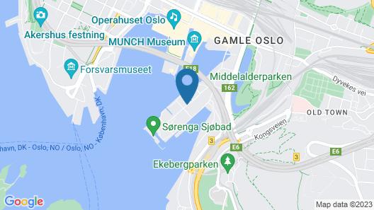 Nordic Host - Sørengkaia 75 Map