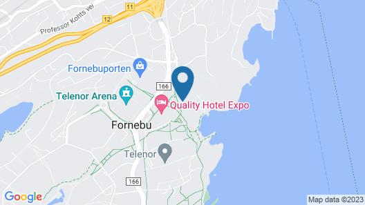 Radisson Blu Park Hotel, Oslo Map
