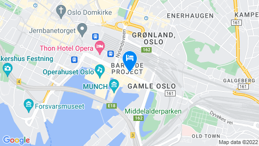 Clarion Hotel Oslo Map