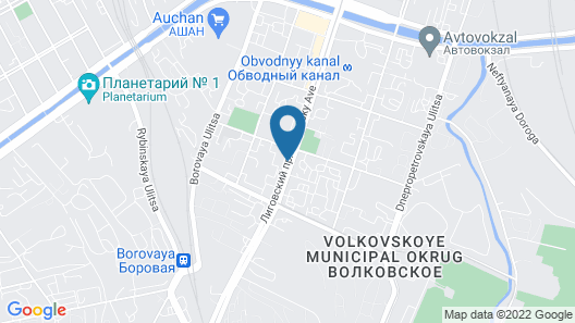 Culturnaya Stolica Guest House Map