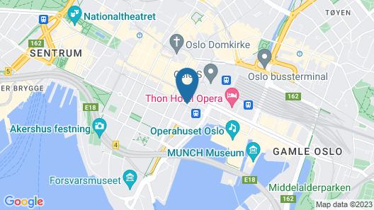 Comfort Hotel Boersparken Map