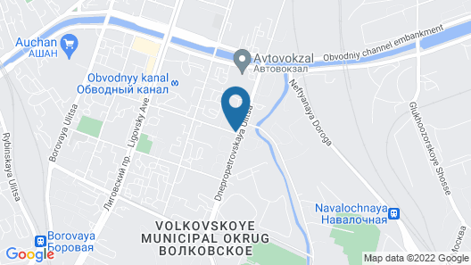 Hotel Kievskaya Map