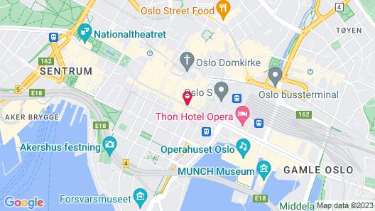 Citybox Oslo Map