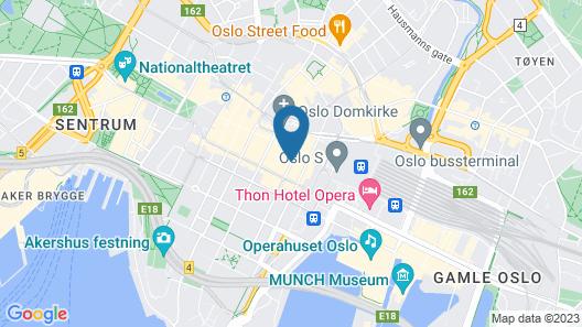 Thon Hotel Astoria Map