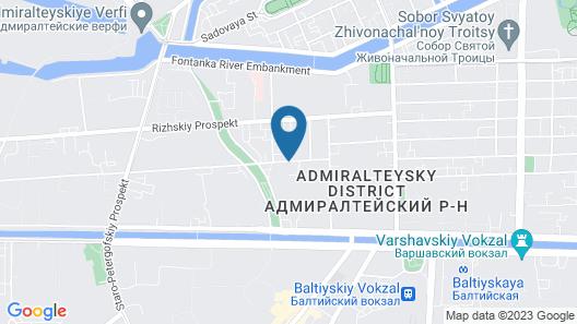 Semeiniy Ochag on Kurlandskaya Map