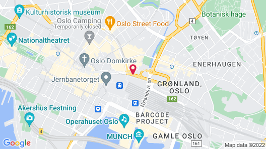 Radisson Blu Plaza Hotel, Oslo Map