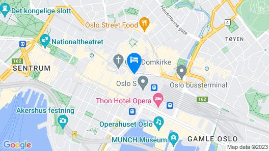Scandic Oslo City Map
