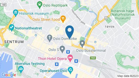 Thon Hotel Terminus Map