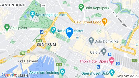 Grand Hotel Oslo Map