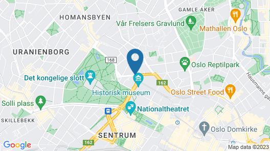 Thon Hotel Europa Map