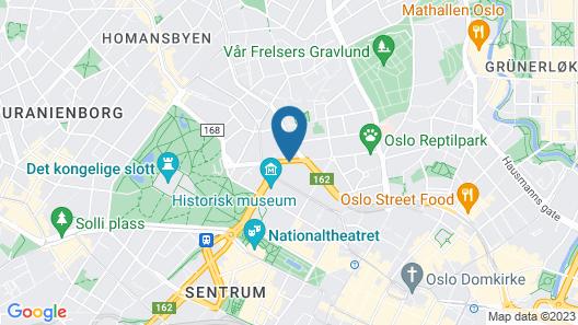 Smarthotel Oslo Map