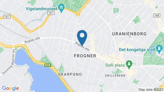 Frogner House Apartments Bygdøy Allé 53 Map