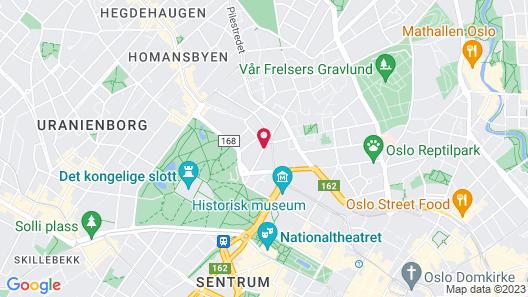 Radisson Blu Scandinavia Hotel, Oslo Map