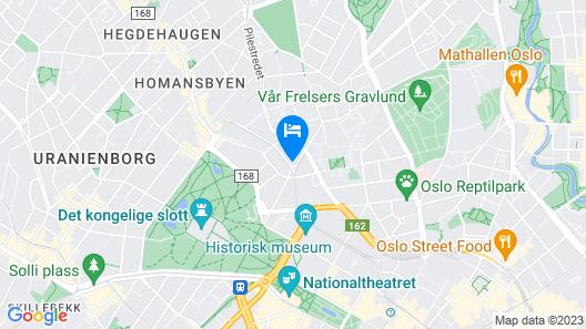 Scandic Holberg Map