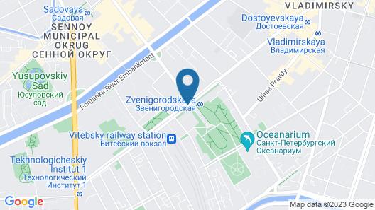 Statskij Sovetnik Hotel Zagorodnyy Map