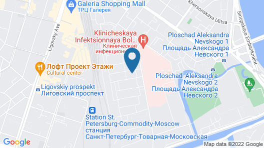 FlatStar Kremenchugskaya 13k1 Map